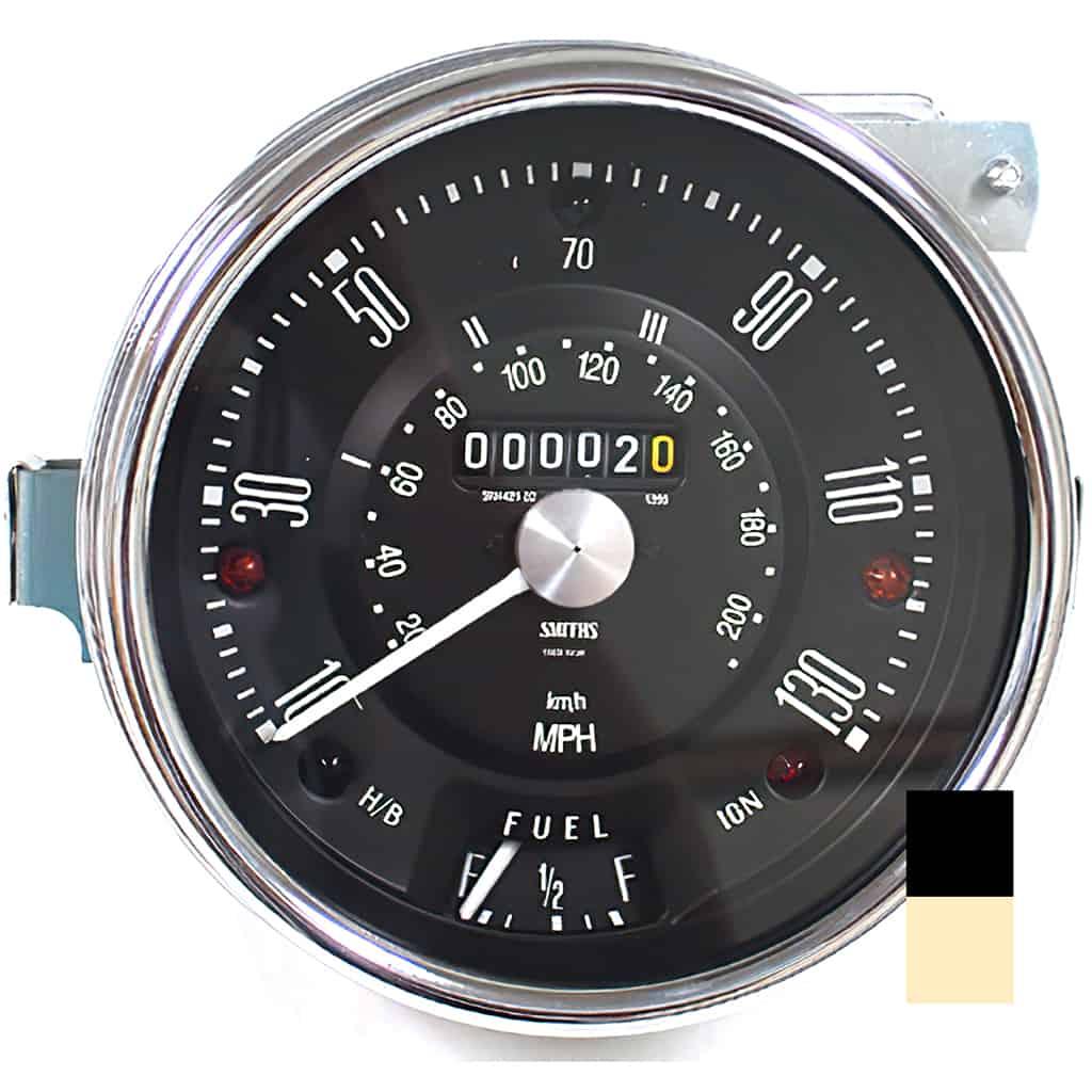Speedometer, Cooper S, 130mph (13H4442)
