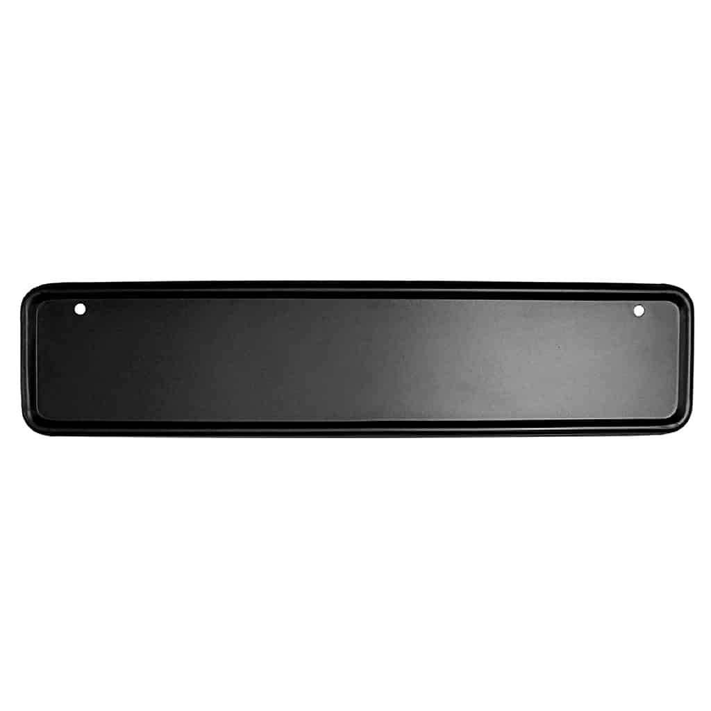 License Plate Mount, Front