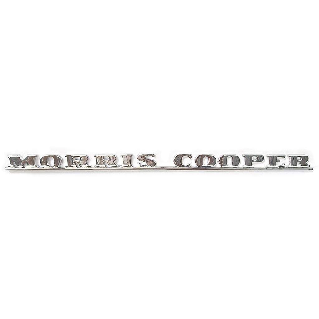 Boot Badge, Mk1, Morris Cooper