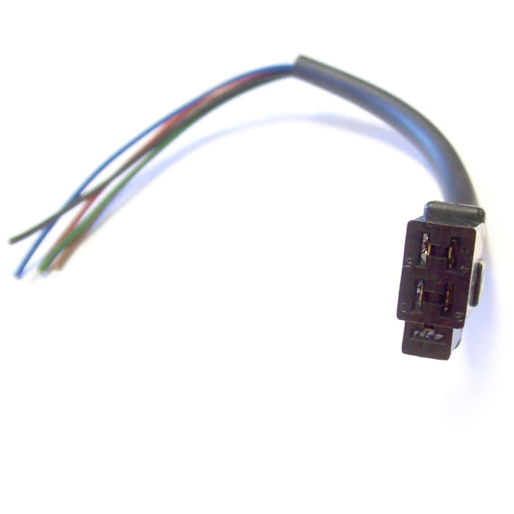 Plug, 2-Speed Wiper Motor