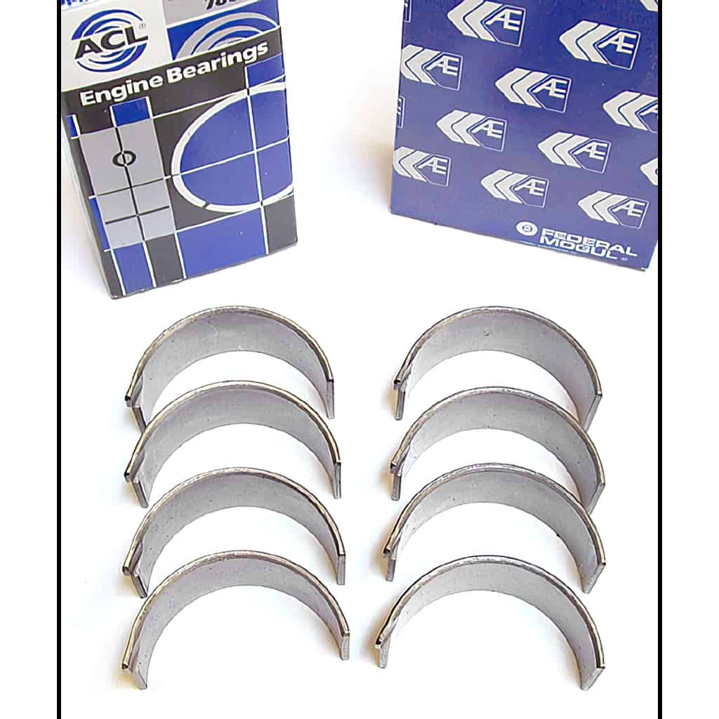 Rod Bearing Set, 1300 and A+, AE/ACL, lead-copper