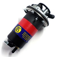 Fuel Pump, Solid State Electric, Positive Ground