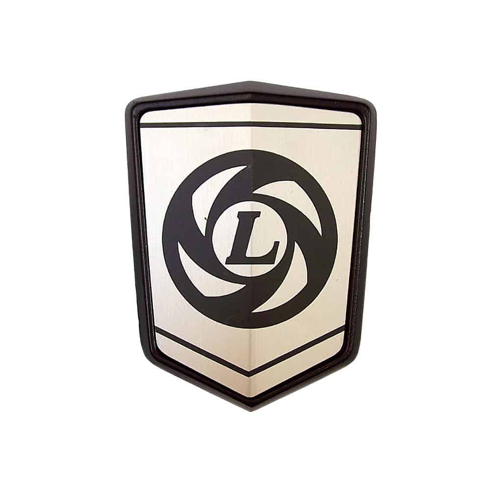 Bonnet Badge, Leyland Turbine Logo
