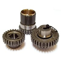 Straight-cut Roller Drop Gear Set, 1.04:1 pre-A+, Swiftune (FOR103)