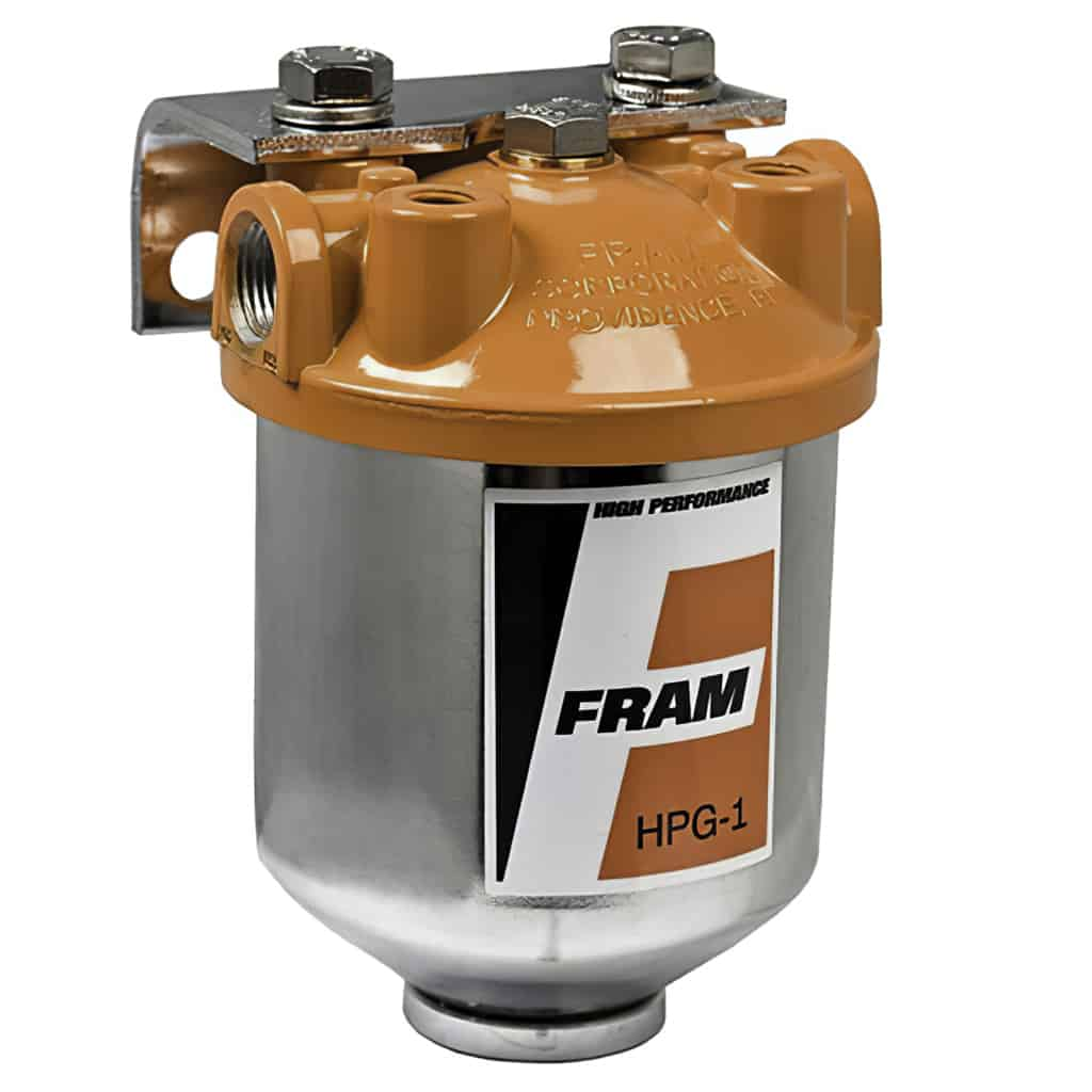 Fuel Filter and Housing, Fram (FRM-HPG1) | Seven Classic Mini PartsSeven Mini Parts