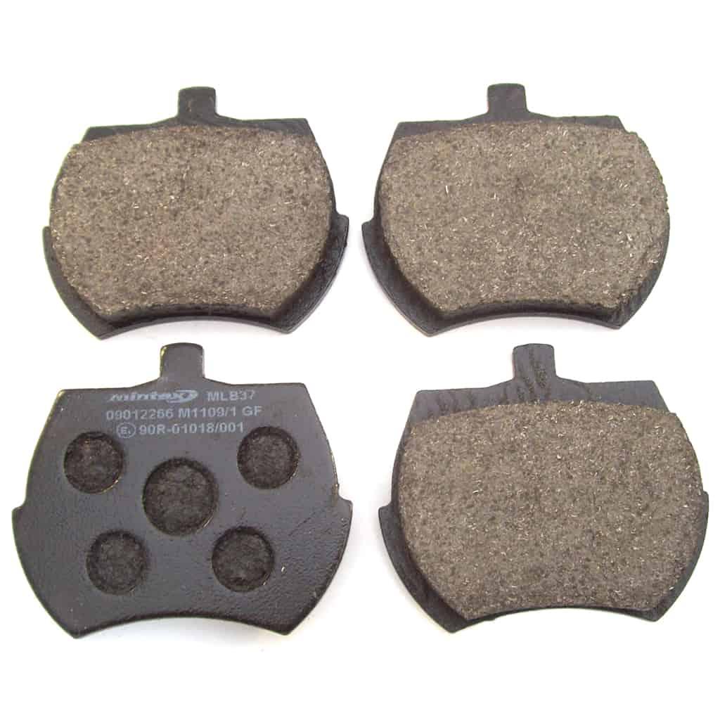 Brake Pads, 8.4'' Rotor, Mintex, Street-use