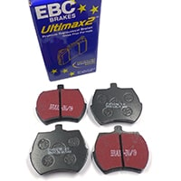 "Brake Pads, 8.4"" rotor, EBC Black Stuff"