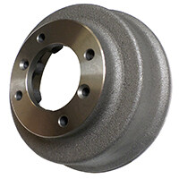 Brake Drum, w/ Built-in Spacer