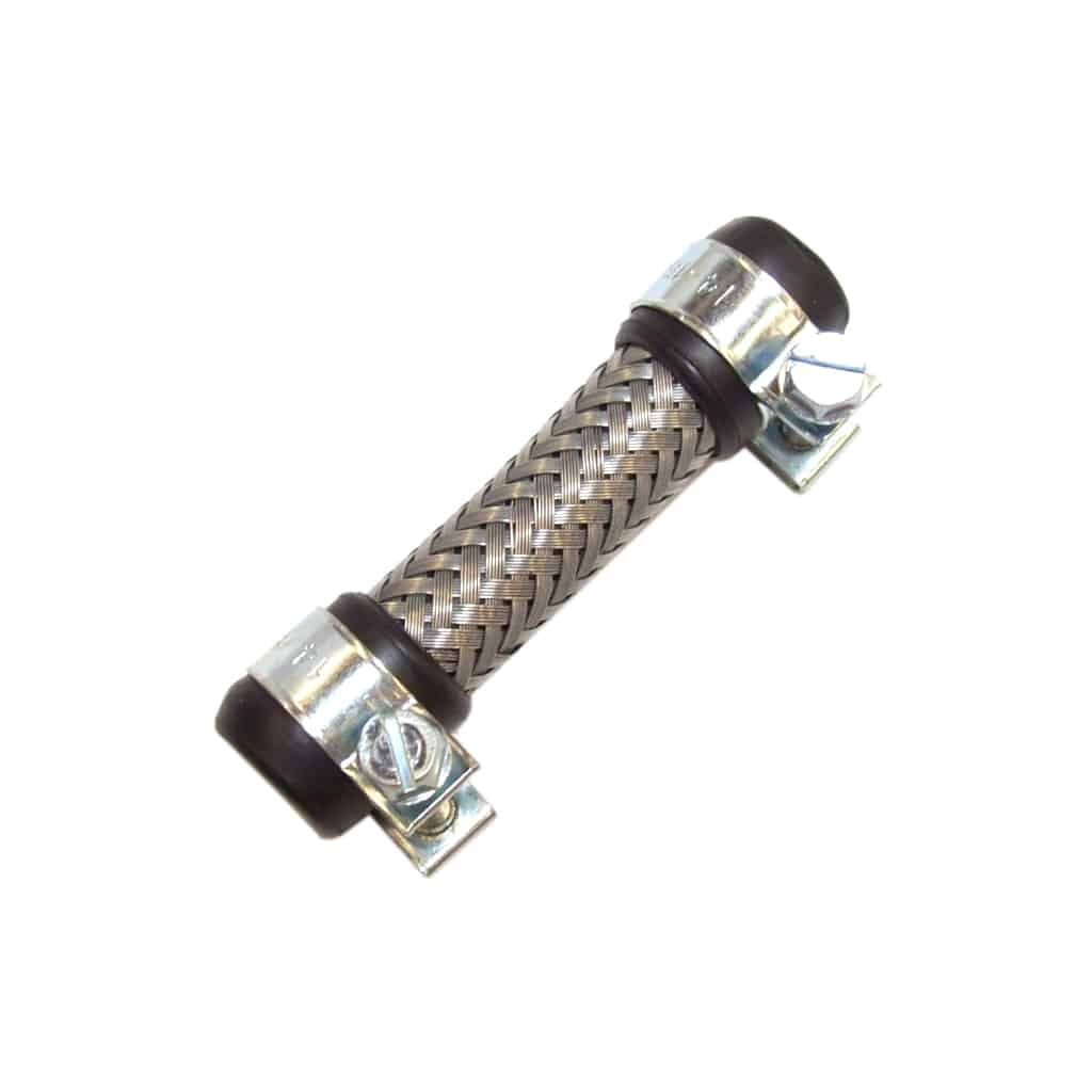 Stainless Steel Braided Rubber Fuel Hose, 2.5''