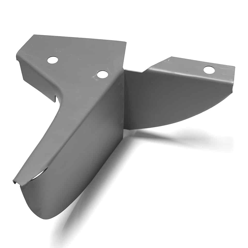 Rear Valance Complete Closing Plate, Saloon, Left Hand