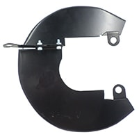 Disc Brake Dust Shields, 8.4'' disc, Left Hand