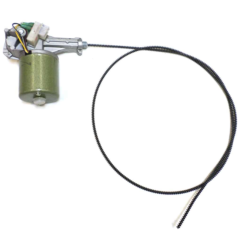 Wiper Motor, 2-Speed, w/ Gear & Cable
