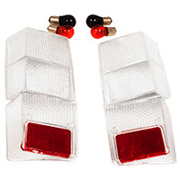 Lens Kit, Clear, Rear with Reverse Light