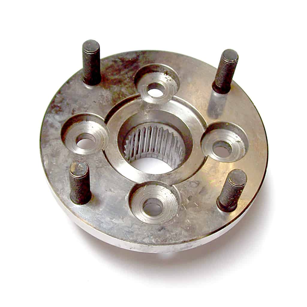 Drive Flange for Vented Disk Brakes