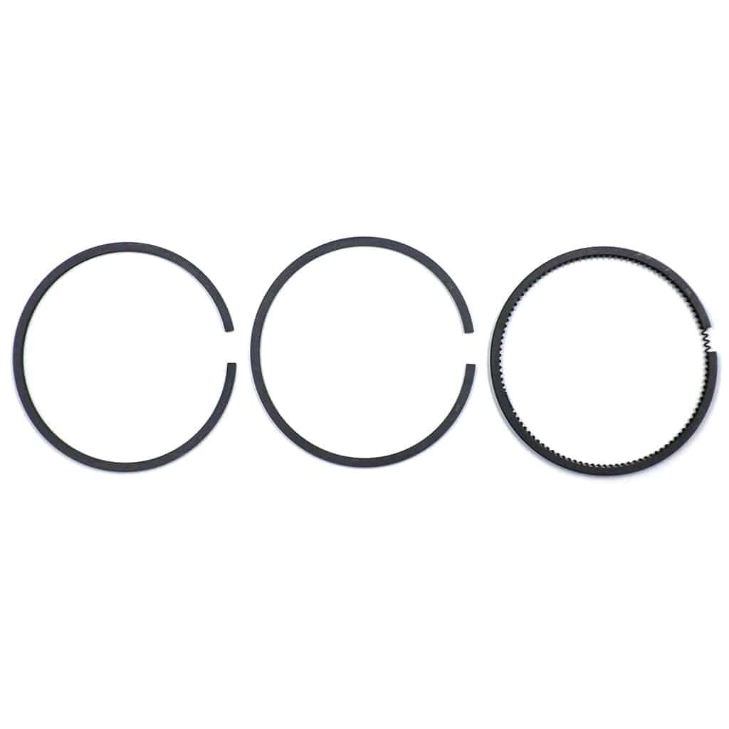 Piston rings, 3-ring set, 998 A+, one piston