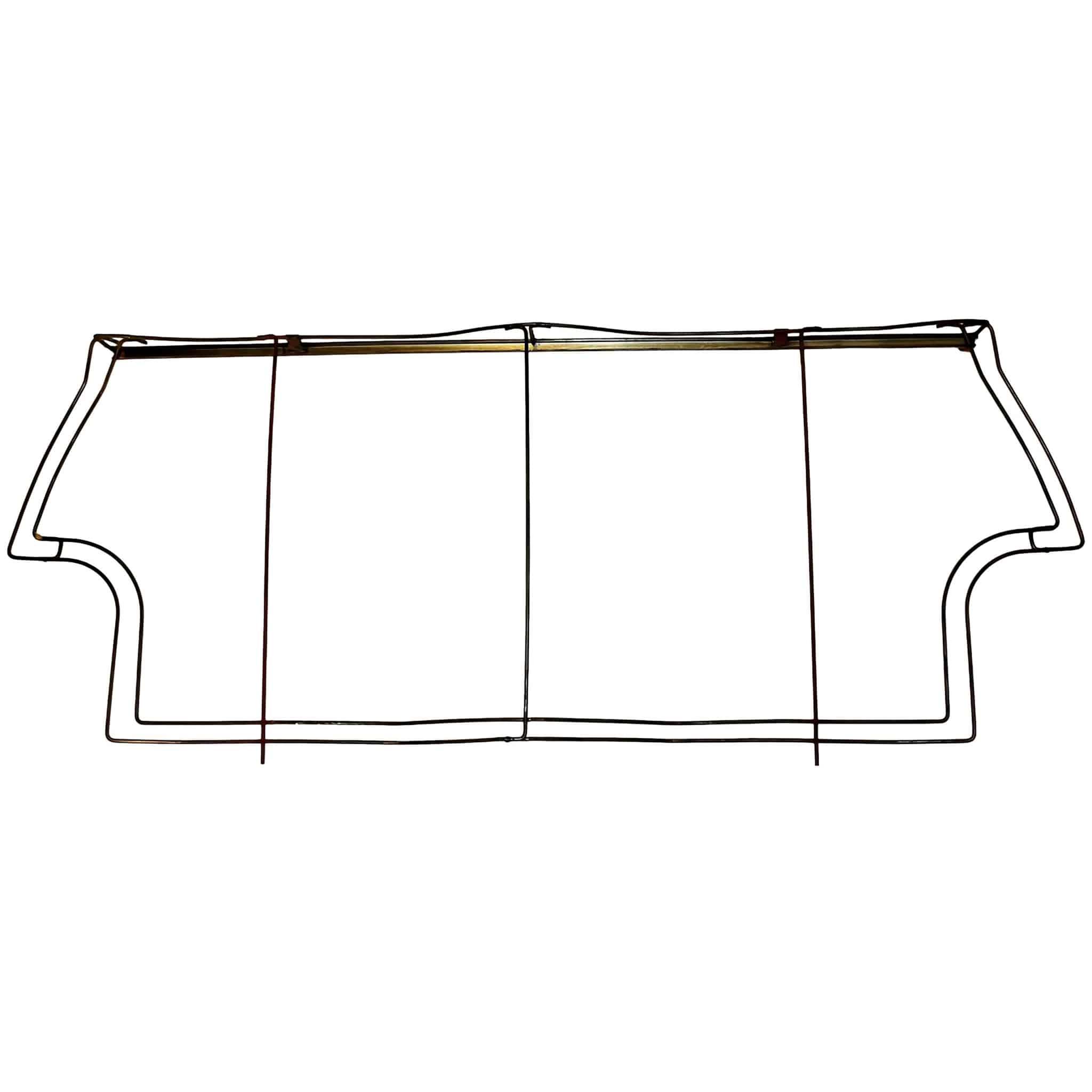 Rear Seat Frame, 1960-1970 Saloon