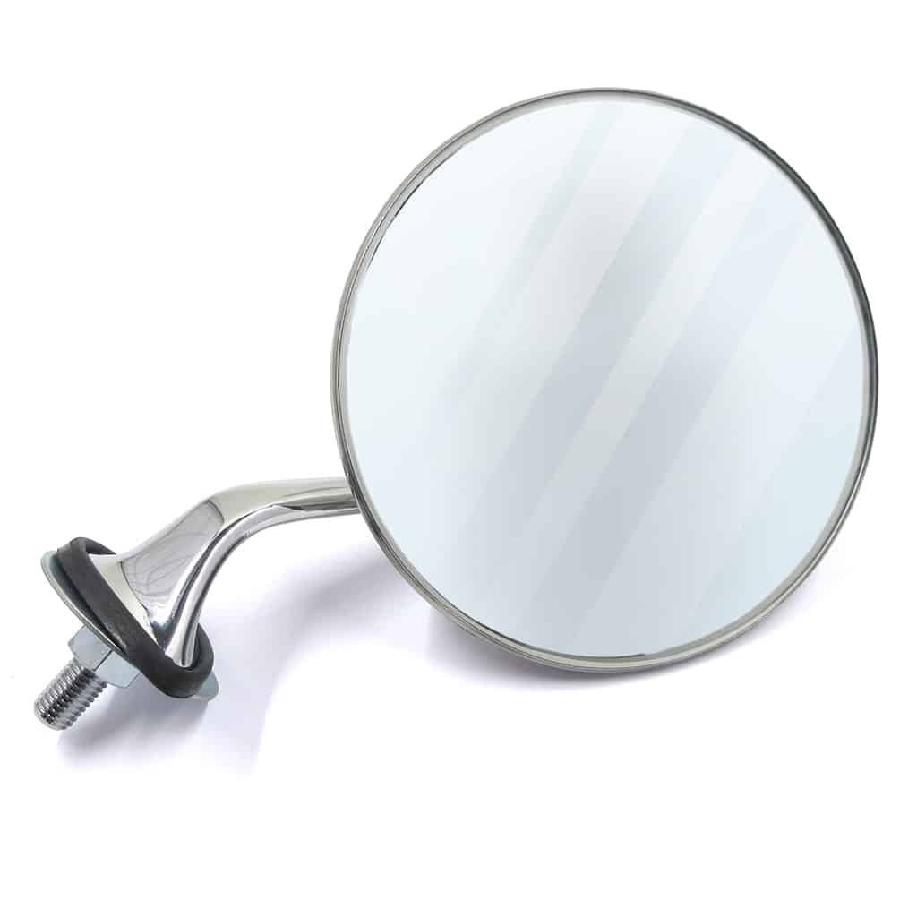 Fender Mirror, Round, Convex, Right-hand