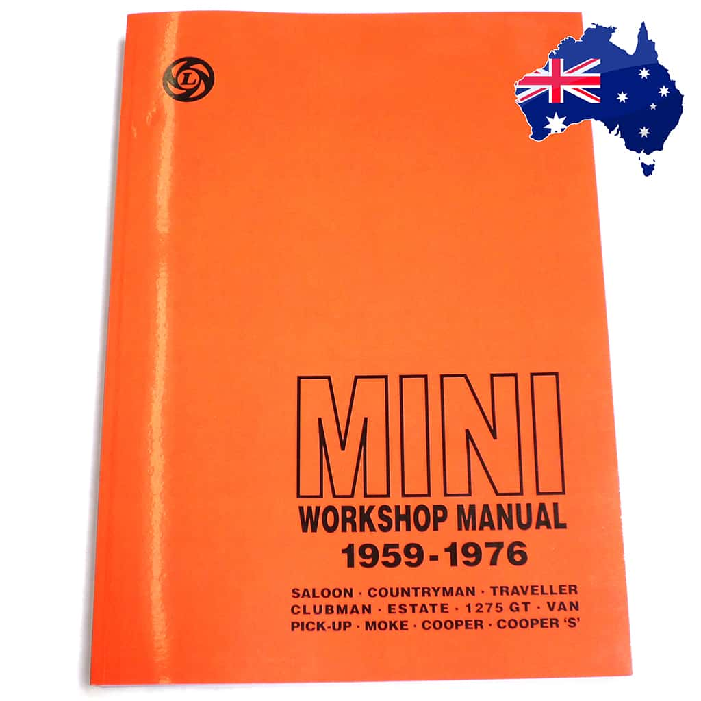Factory Workshop Manual with Australian Supplement