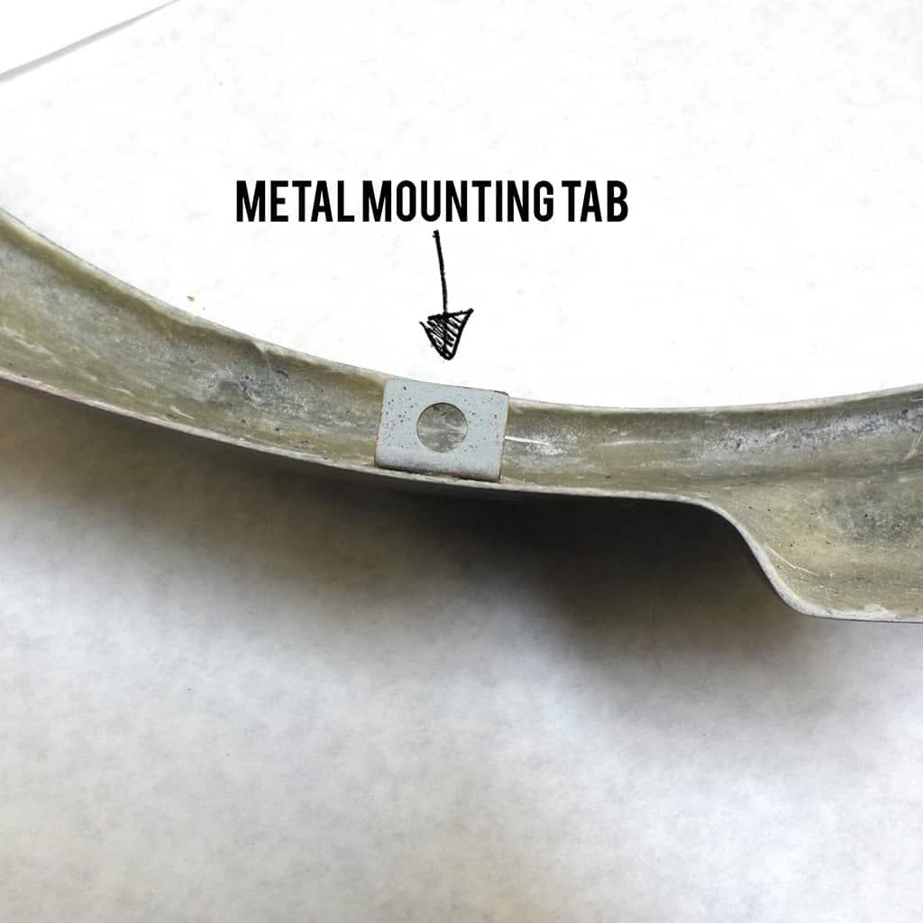 SBO0011 mounting tabs