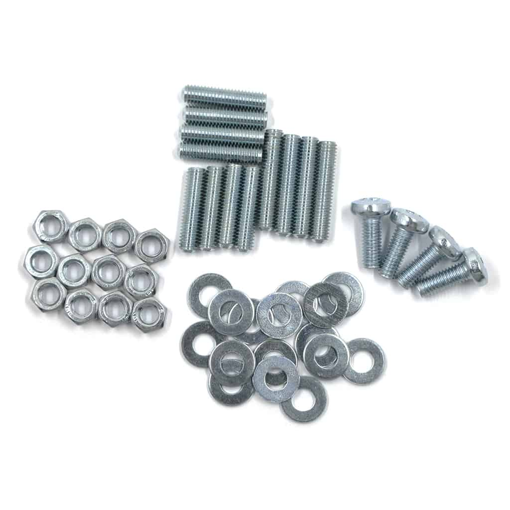 Door Hinge Hardware Kit, for Mk1-Mk2 Aftermarket Hinges