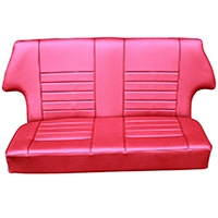 Rear Seat Covering Kit, Saloon, Vinyl, 1960-2000