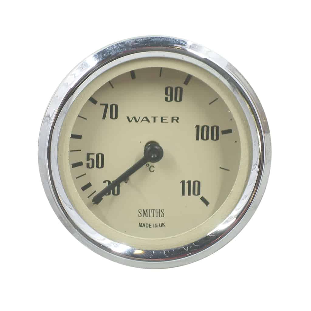Gauge, Water Temp, 30-110°C, Smiths, Magnolia Face