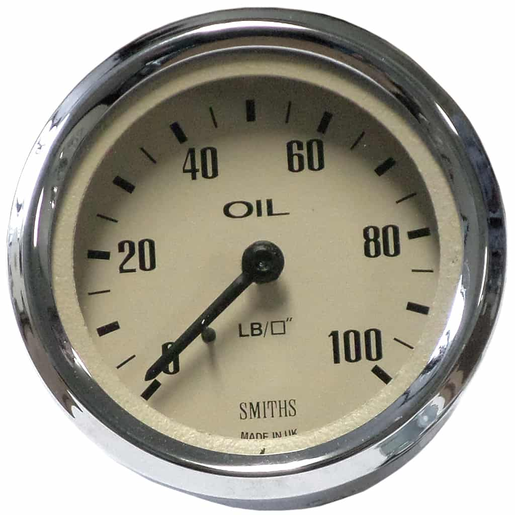 Oil Pressure Gauge, Smiths, Magnolia