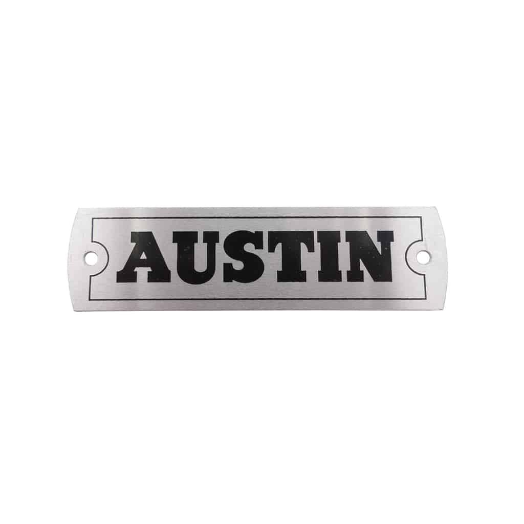 Rocker Cover Plate, Austin