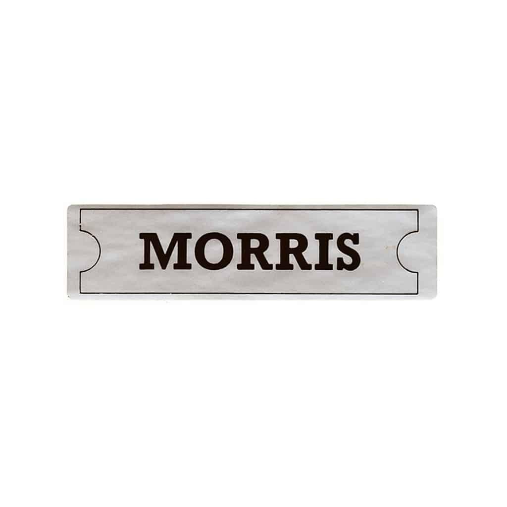 Valve Cover Sticker, Morris