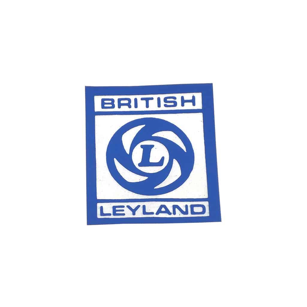 Valve Cover Sticker, Leyland