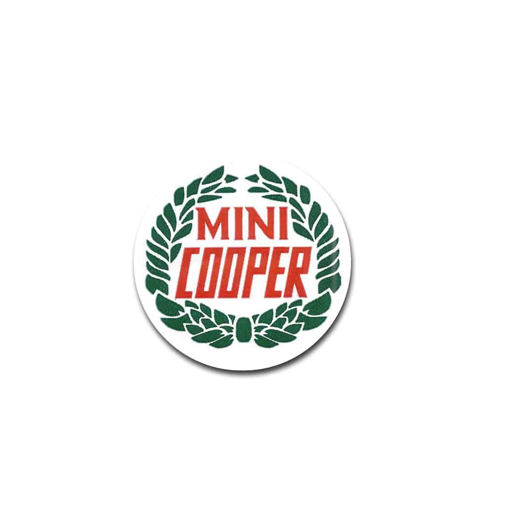Center Cap Decal, Cooper Laurel