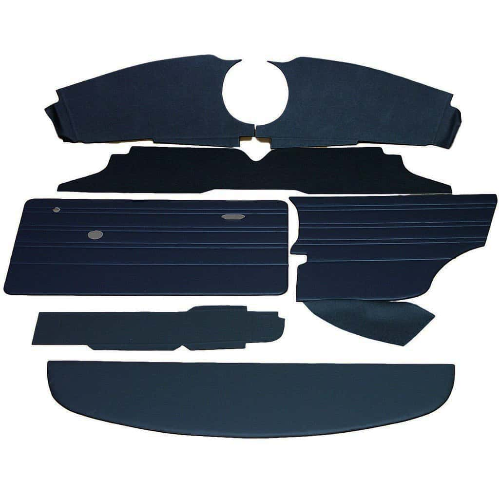 Interior Panel Kit, Mk3, 1970-73, Navy