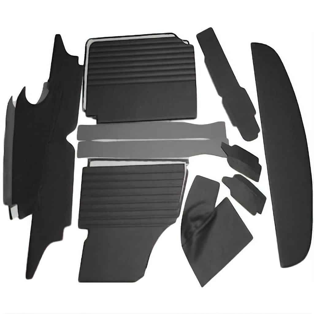 Interior Panel Kit, Mk1-Mk2, Central Round Speedo