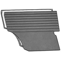 Interior Trim Panels, Rear Quarter, Mk1-Mk2