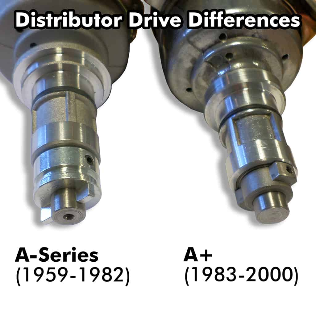 Distributor drive differences